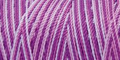 Iris Nylon Crochet Thread Purples Print Size 2 300yds