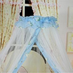 Baby kids Hig Lace Dome mosquito net Bed Canopy for Bedding,Breathable Prevention Mosquitos bites Netting for Newborn Toddler -- Learn more by visiting the image link.
