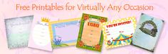 Printable Party Kits: Party Templates for All Occasions