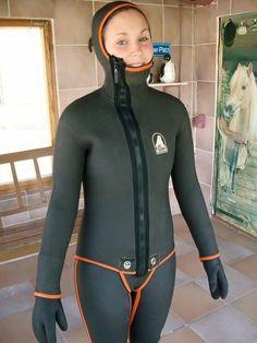 Scuba Wetsuit, Technical Diving, Diving Suit, Scuba Diving, Scuba Girl, Womens Wetsuit, Black Suits, Rain Wear, Suits For Women