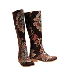 f97fd24b01e Anatolian Turquoise - Riding Boot Knee High Boots