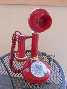 My mom and I used to have a phone just like this! I remember using it. Haha.