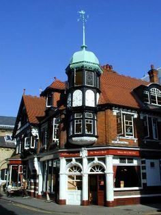 Corn Exchange Street: Red Cow pub, Cambridge, England