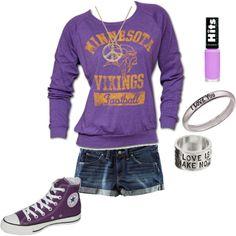 Outfit -- Minnesota Vikings
