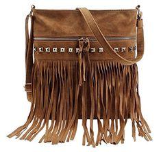 Earthyk Women Shoulder Bag Oasis Style Leather Crossbody Bag