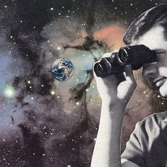 #smallworld #joewebb #collage #art #london #hangupgallery #saatchigallery #jealousgallery #earth #space #global