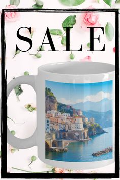 gifting coffee mugs can be a great feeling, especially when they love beautiful mugs like this one coffee #mugscozy #coffeemugspretty White Coffee Mugs, Coffee Cups, Amalfi Coast, Prints, Beautiful, Coffee Mugs, White Coffee Cups, Coffee Cup