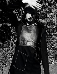 Publication: i-D Magazine Winter 2016 Model: Rianne van Rompaey Photographer: Daniel Jackson Fashion Editor: Ludivine Poiblanc Hair: Rutger Make Up: Francelle Daly