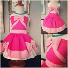 Pink cinderella dress using poppy pattern