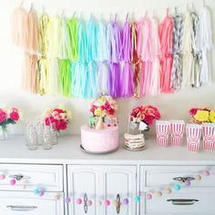Your place to buy and sell all things handmade Paper Balloon, Balloon Tassel, Tissue Paper Garlands, Coral Chevron, 5th Birthday Party Ideas, Fiesta Decorations, Gold Light, Custom Banners, Backdrops For Parties