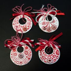 Photo by kosebose Diy Projects To Try, Craft Projects, Baba Marta, Diy And Crafts, Crafts For Kids, International Craft, Bff Gifts, Quilling Designs, Christmas Nativity