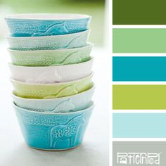 Bowl Bliss | Color & combination | color palette | color scheme