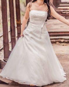Vestido de Noiva tomara que caia Vera Wang – Empório Lulu