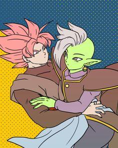 Zamasu & Goku Black 腐DB [20]