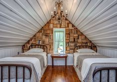 NEST cabin | Book Wall | Shelter and Roost | Tennessee