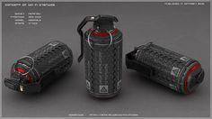Grenade concept by peterku.deviantart.com on @DeviantArt