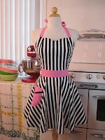 Call it like you see it this Super Bowl Sunday in this ref-inspired apron @ www.apronandheels.com