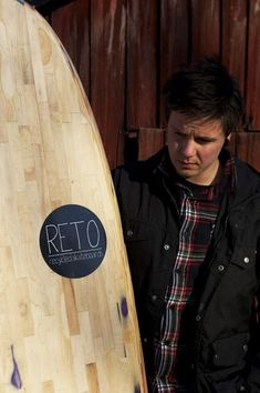 My name is björn holm, i live in finland. I study furniture design. I have built a hollow fish surfboard from recycled skateboards that i have collected from all around Finland. It took me 4 months to make it. Check out the board and my personal Bobo Holm website ! #Skateboard #Accessories, #RecycledSportsEquipment, #WoodOrganic