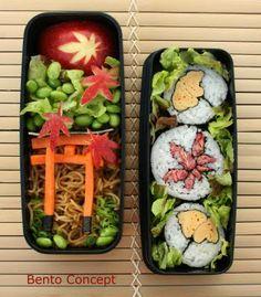 Japan Themed Sushi Bento - Diana from France