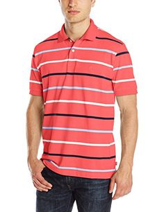 IZOD Men's Short Sleeve Coastal Prep Pique Striped Polo   	  	    	  	$ 45.00 Polo Shirts Product Features 2 button placket Ribbed cuffs and collar Polo Shirts Product Description Short sleeve feeder stripe polo Find More Polo Shirts Products  http://www.themenshirt.com/izod-mens-short-sleeve-coastal-prep-pique-striped-polo/