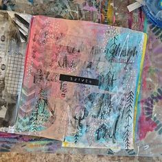 """Really pleased with how this one turned out for the prompt """"arrrw-like"""" for #artmarks30daychallenge Also, gonna apologize for the messy photos. This is my actual work desk, which is not bright white and very clean! I dont have q dedicated photography area, so I have to set it all up every time. Which normally Im down with, but Ive been running on fumes this week (see previous posts about partying with baby all hours of the night.) as much as I love my styled pics, Im more into just sharing…"""
