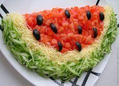 """Chutný  zdravý  šalát """"melón""""   /fotopostup/"""