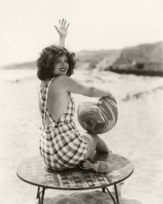 Clara Bow was an American actress who rose to stardom in silent film during the 1920s.