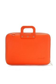 Laptoptassen : Laptoptas 15 inch oranje CLASSIC BOMBATA