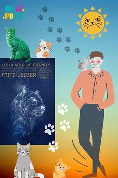 """💥 Que vous soyez un-e """"chatophile"""", un-e """"catlover"""", que vous connaissiez l'écrivain Fritz Leiber ou non, n'hésitez pas à vous pencher sur """"Les chats sont éternels"""" , une anthologie sympathique parue en janvier 2021 aux éditions Mnemos. Vous pourrez y découvrir des chats 🐱 très particuliers 😁 #chat #félin #roman #nouvelles #novella #sf #sciencefiction #imaginaire #livre #anthologie #fritzleiber"""