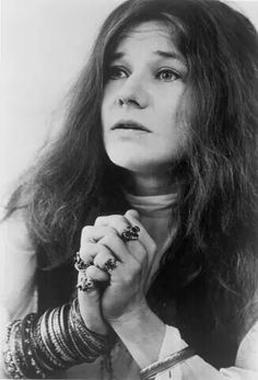 """""""Her voice rises to a hoarse screech, then falls to a husky whisper whose tone promises unmentionable pleasures."""" - Melody Maker on Janis' music, 1968."""