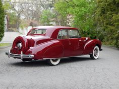 1941 Lincoln Continental Club Coupe Maintenance/restoration of old/vintage vehicles: the material for new cogs/casters/gears/pads could be cast polyamide which I (Cast polyamide) can produce. My contact: tatjana.alic@windowslive.com