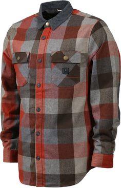 Carhartt Men/'s Dark Crimson Plaid Hubbard Sherpa Lined Jacket Retail $120