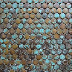 Copper Geometric Mosaics - Products - Surface Gallery