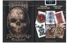 Bicycle Alchemy V2 Playing cards. $5.95. #3playingcards #poker #games #magic