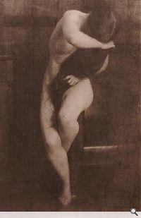 Akt (Mary Warner), 1906. Fotografische Sammlung, Museum Folkwang, Essen. © Estate Heinrich Kühn