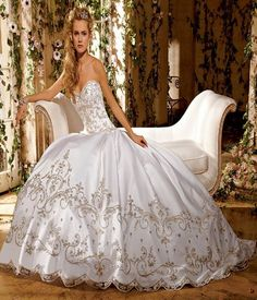 Big Ball Gown Wedding Dresses | Women Dress Ideas