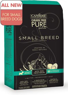 CANIDAE® Grain Free PURE Petite™ Small Breed Bison Formula | CANIDAE®