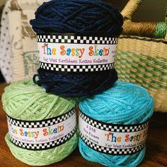 Vibrant Key West Karibbean Kotton for Knitting Dishcloths – New England's Narrow Road #sassyskein #knittingwithcotton #knittingdishcloths #cottonyarn