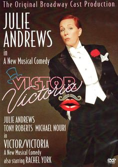 Available in: DVD.This DVD documents a stage production of the Blake Edwards production Victor/Victoria, which started life as a movie in the early Victoria Movie, Victor Victoria, Musical Film, Film Movie, Musical Theatre, Michael Nouri, Jazz, Blake Edwards, Fiction