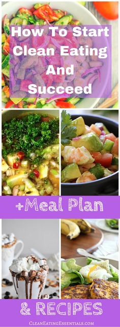 Learn how to start clean eating and succeed! Inside you'll find tons of useful tips and guidance on how to make clean eating work for you. Inside you'll also get access to our FREE 7 day clean eating challenge that comes with clean eating recipes and meal plan. Click to learn more...