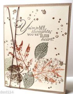 "Stampin' Up! ""French Foliage"" stamp set - ? | http://weddingcardtemplates.blogspot.com"