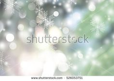 Green blur abstract background. bokeh christmas blurred beautiful shiny Christmas lights