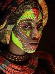 Bildergebnis für african traditional body art paintings