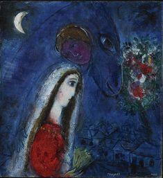 "Marc Chagall - ""La fiancee revant"", 1952"
