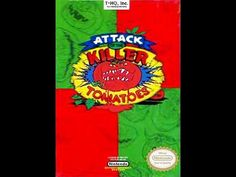 Attack Of the Killer Tomatoes Nes Nintendo Entertainment system