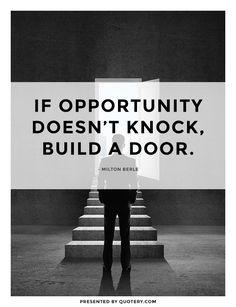 Build a door.