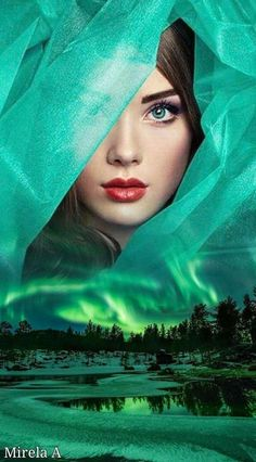 Fantasy Pictures, Fantasy Images, Wallpaper Earth, Fantasy Mermaids, Beauty In Art, Fantasy Art Women, Mythical Creatures Art, Double Exposure, Photography Photos