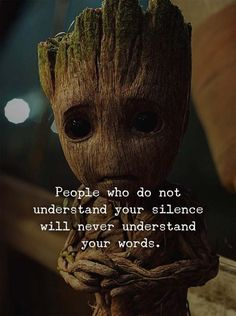 "Best👌Quote on Silence🙊in Relationship❤ & Life😍. "" People who Do Not Understand Your Silence Will Never Understand Your Words. Wisdom Quotes, True Quotes, Words Quotes, Best Quotes, Scareface Quotes, Blind Quotes, Quotes Images, The Words, Bff Frases"