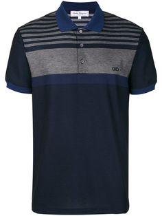 SALVATORE FERRAGAMO Button Front Polo Shirt. #salvatoreferragamo #cloth #shirt