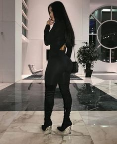 Mode Outfits, Sexy Outfits, Fall Outfits, Casual Outfits, Fashion Outfits, Womens Fashion, Baddie Outfits Party, Black Outfits, Fashion Killa